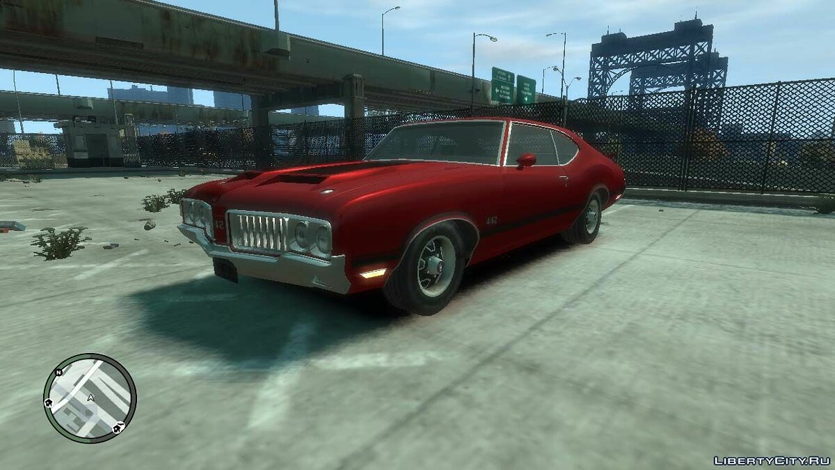 Car 1970 Oldsmobile Cutlass 4-4-2 for GTA 4