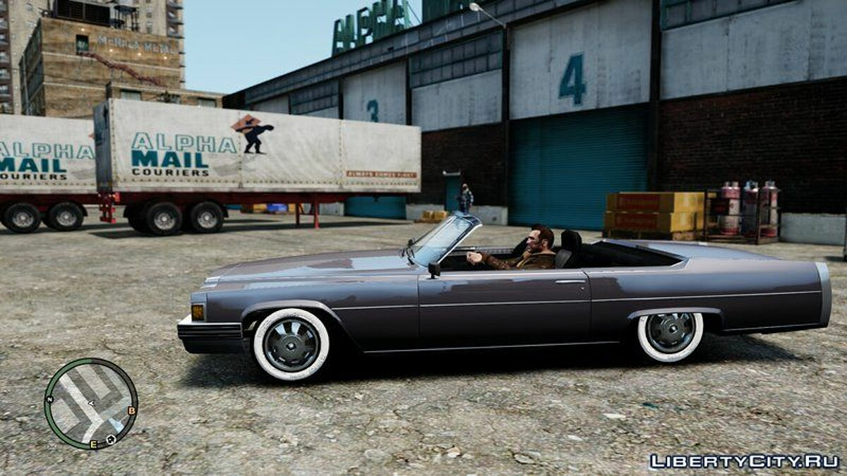 Emperor Coupe Convertible for GTA 4