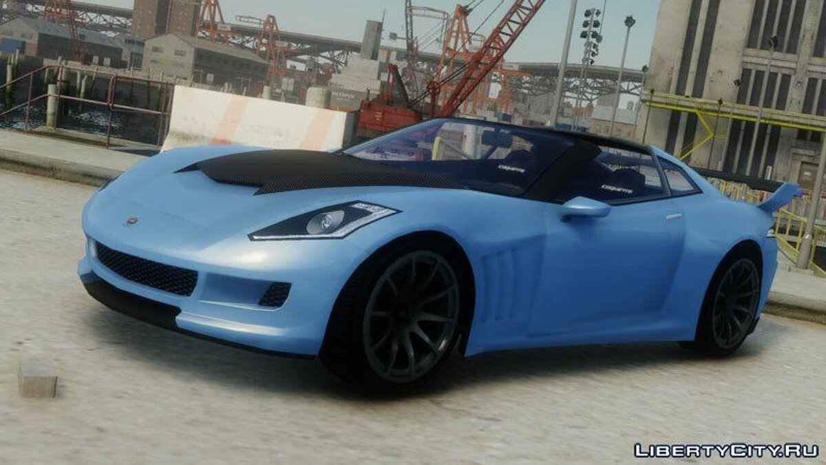 Car 2nd Gen Coquette (+ Tuning) for GTA 4