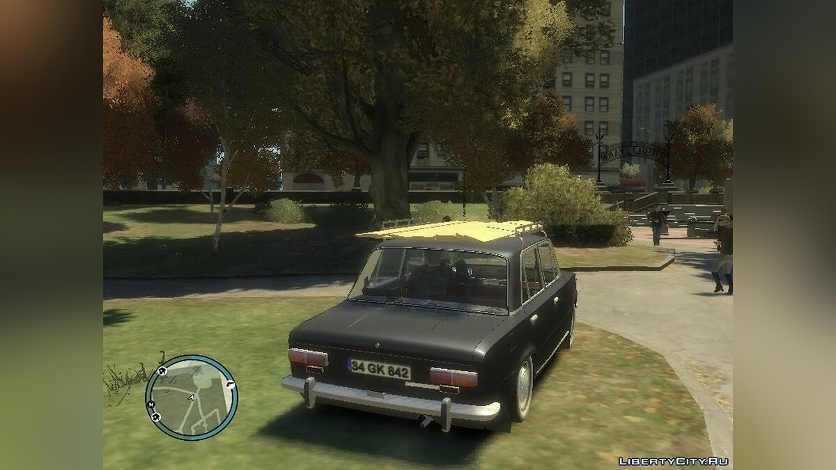 Car Tofas Murat 124 for GTA 4