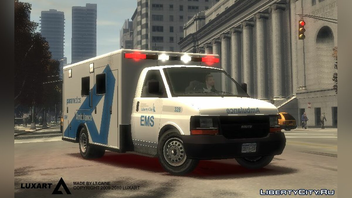 Car LCEMS Ambulance for GTA 4