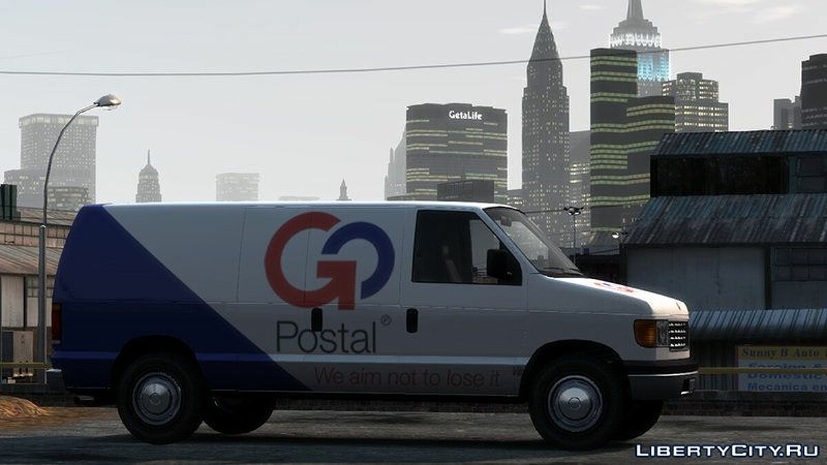 Car Vapid Steed 1500 Cargo Van for GTA 4