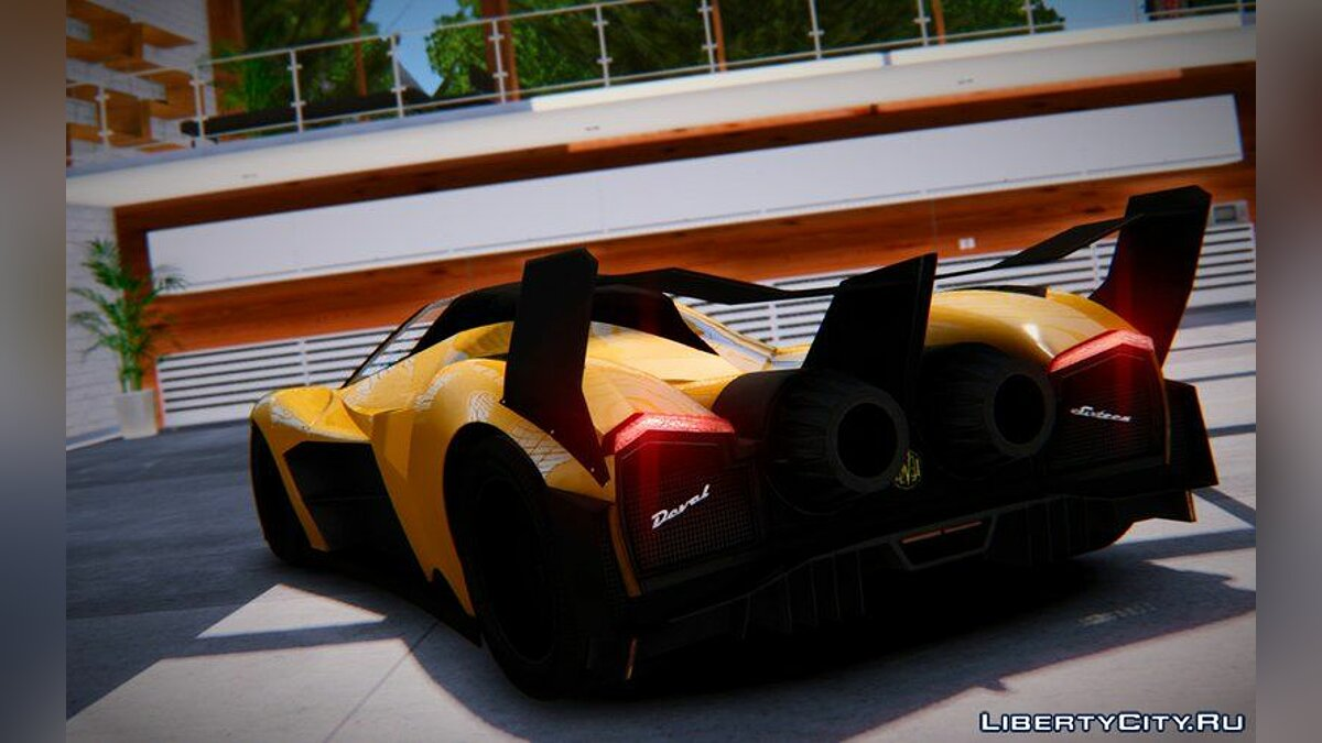 Car 2013 Devel Sixteen Prototype for GTA 4