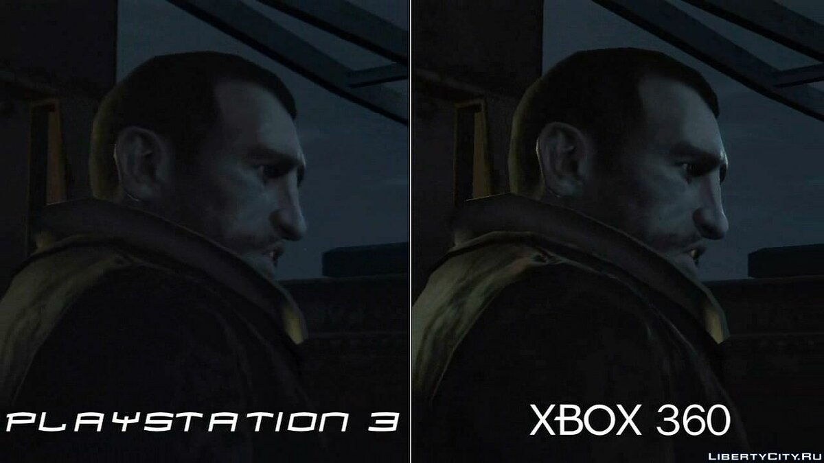 Xbox 360 and PS3 video comparison for GTA 4 - Картинка #1