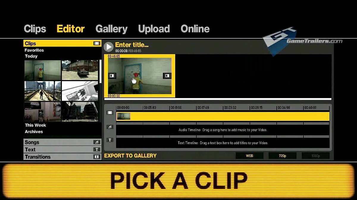 Video Video PC Video Editor Tutorial for GTA 4
