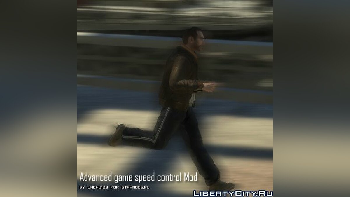 Advanced game speed control for GTA 4