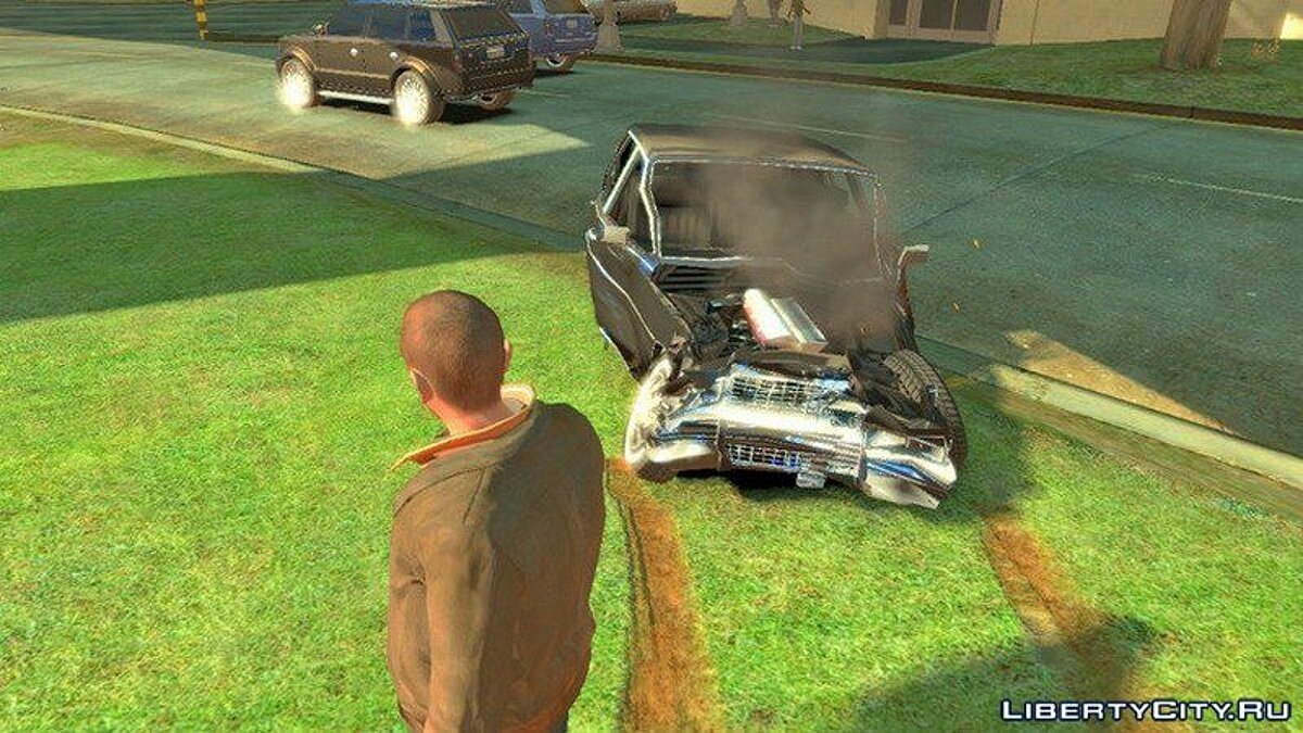 Mod Realistic behavior physics for cars for GTA 4