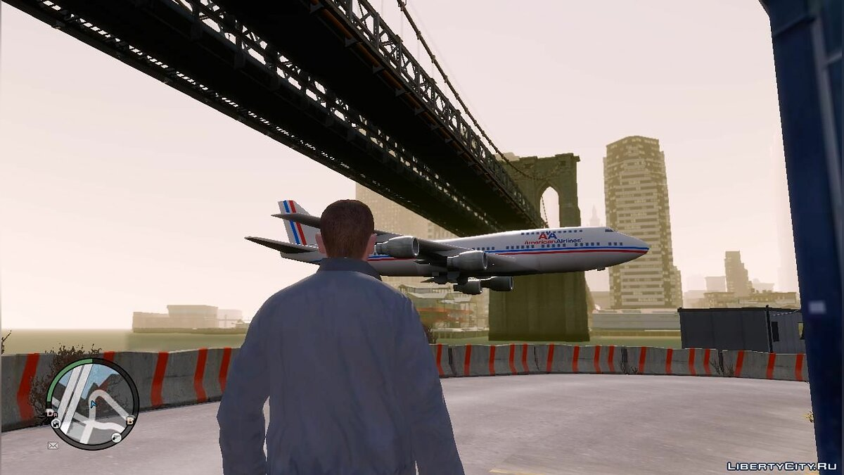 New airplane route for GTA 4 - Картинка #3