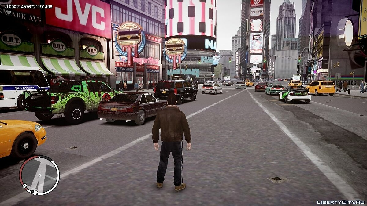 Mod Real Traffic for GTA 4