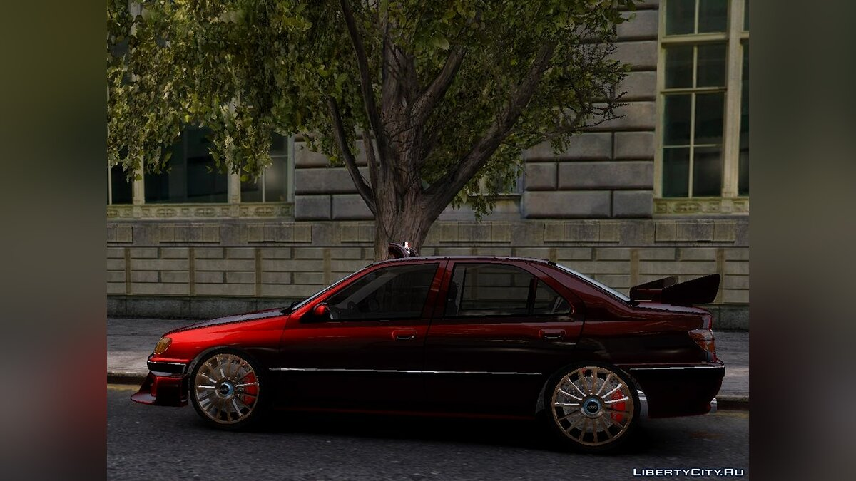 Peugeot car Peugeot 406 Taxi 2 Final for GTA 4
