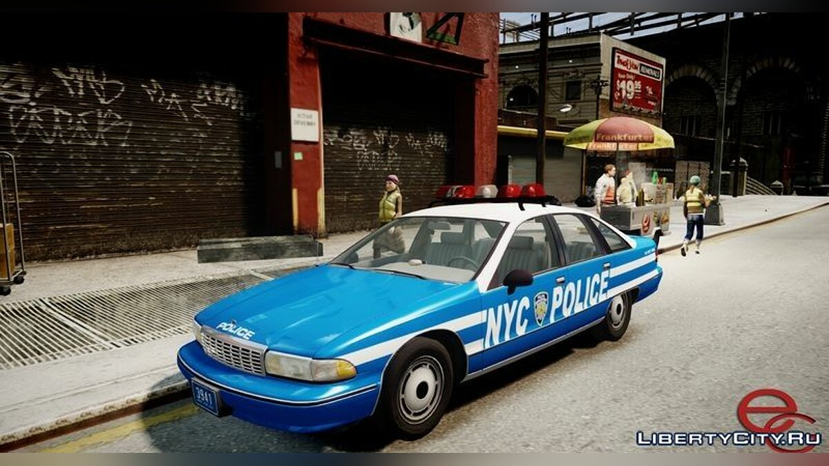 Chevrolet Caprice 1991 NYPD / LCPD for GTA 4