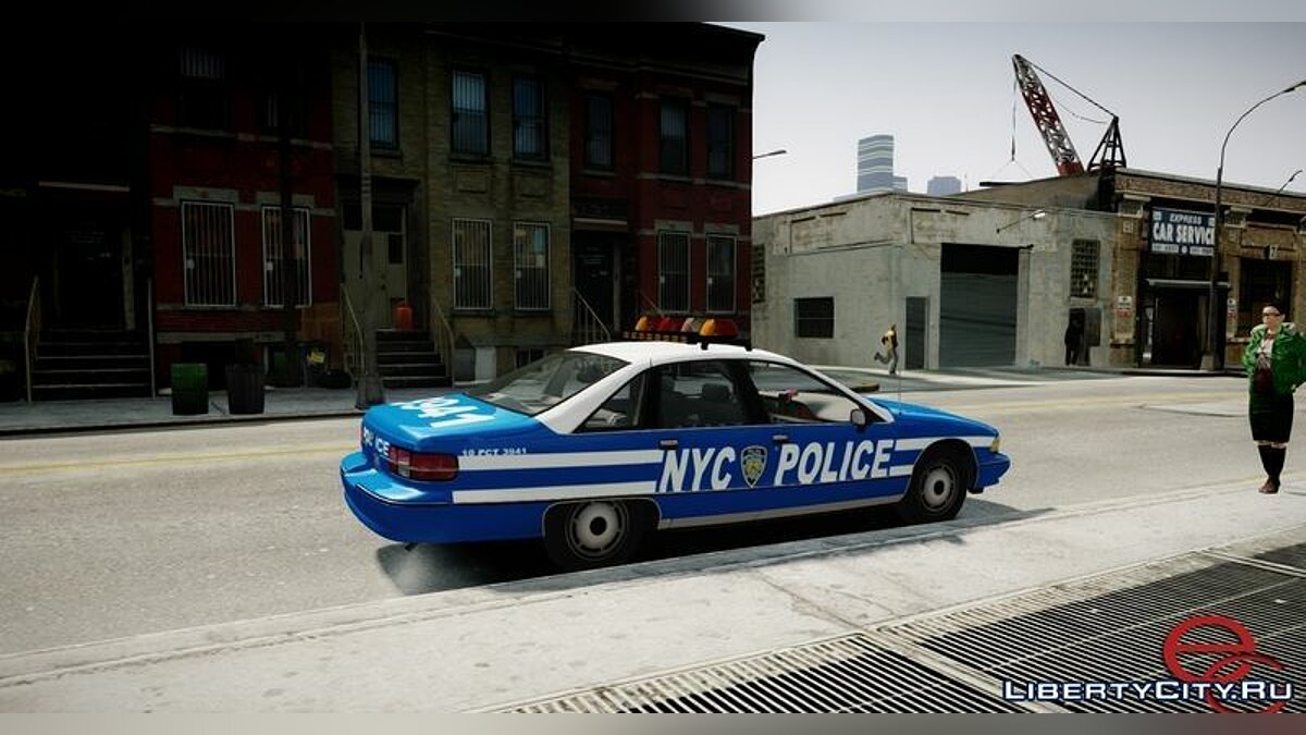 Chevrolet Caprice 1991 NYPD / LCPD for GTA 4 - screenshot #2