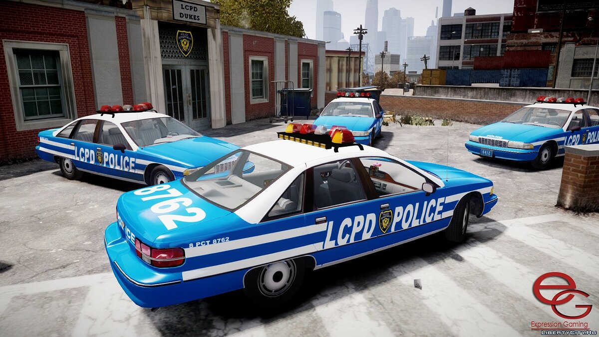 Chevrolet Caprice 1991 NYPD / LCPD for GTA 4 - screenshot #3