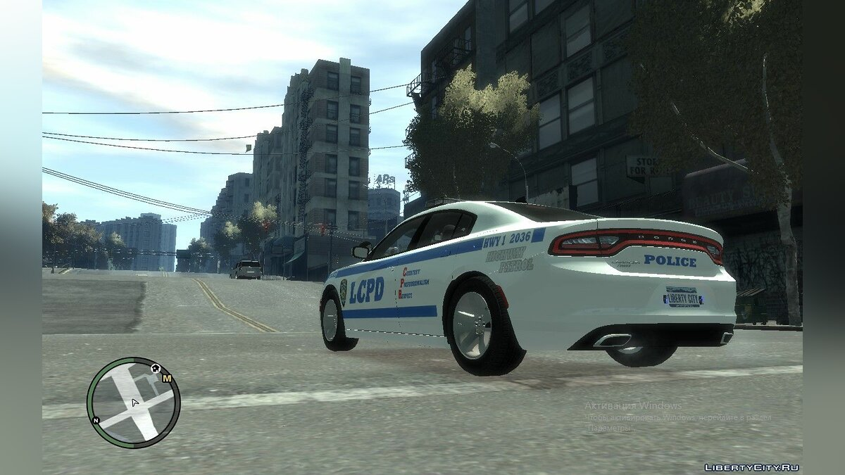 Police car Dodge Charger Police LCPD ELS for GTA 4