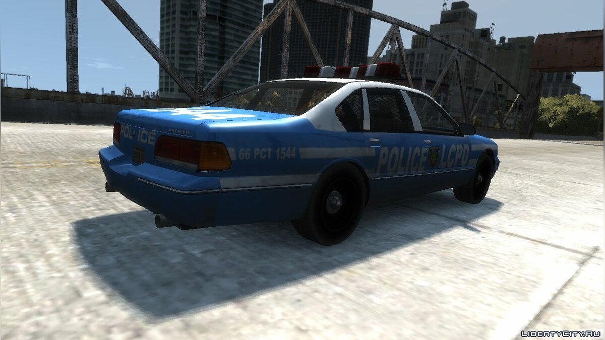 Police car Declasse Premier Police Cruiser for GTA 4