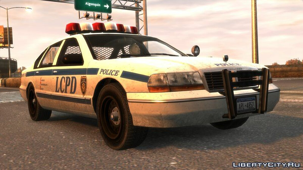 Police car Declasse Premier Police Cruiser [V1.1] for GTA 4