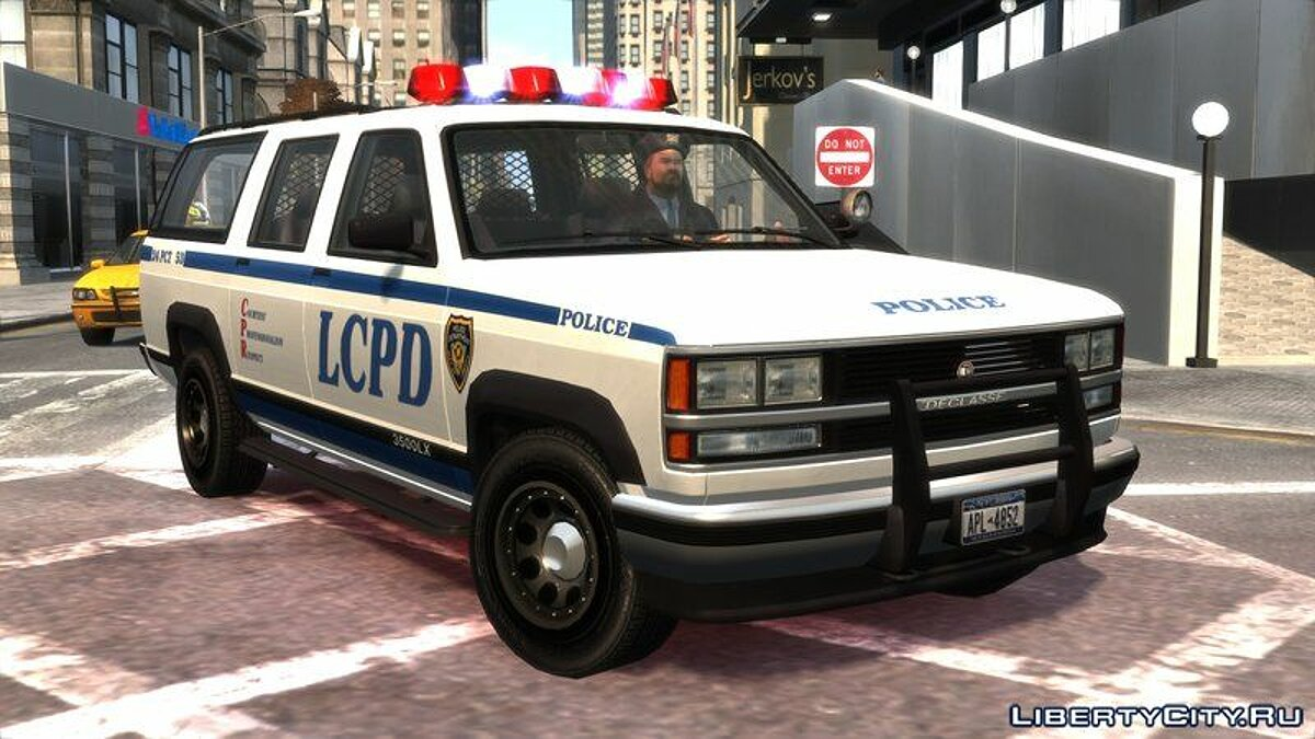 Police car Declasse Granger Retro Police for GTA 4