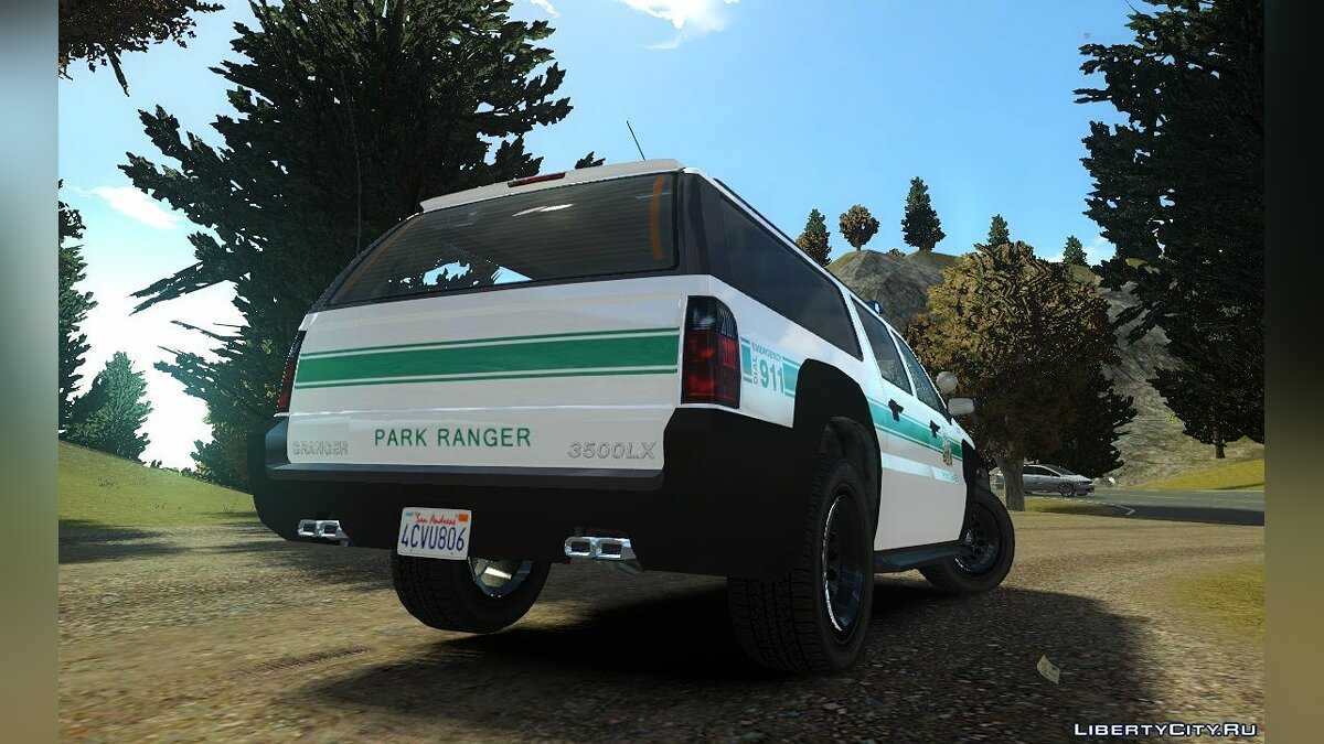 Police car GTA 5 Park Ranger (Non-ELS) for GTA 4