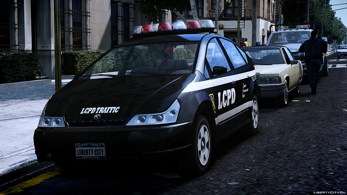 Police car Dilettante Police (LCPD) 1.0 for GTA 4