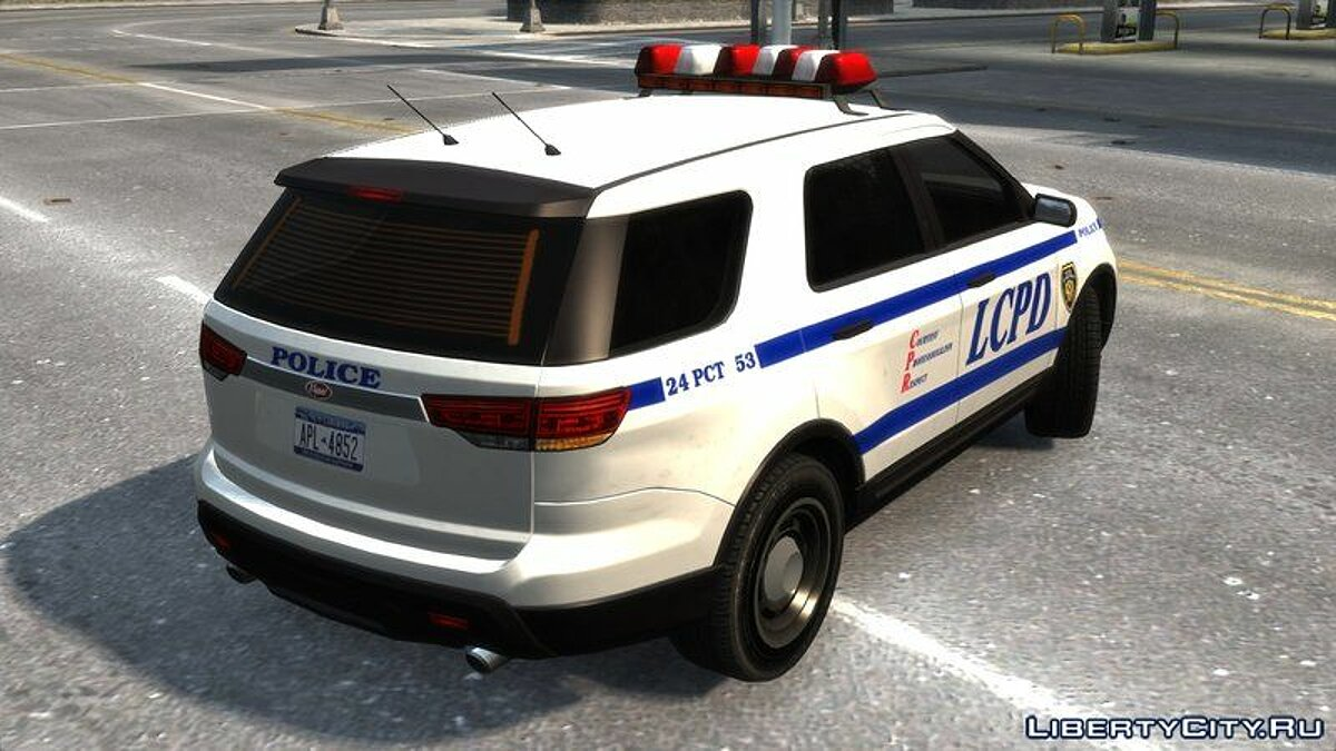 Police car Vapid Interceptor Utility for GTA 4