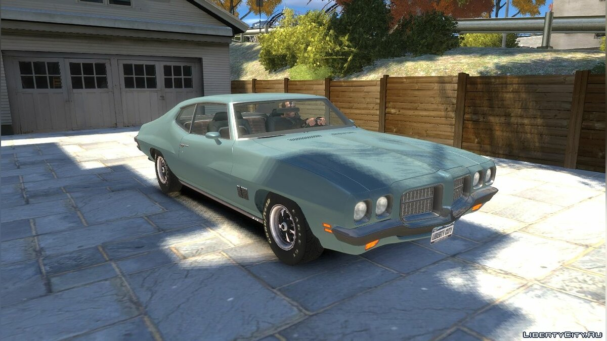 Pontiac car 1971 Pontiac LeMans Coupe for GTA 4