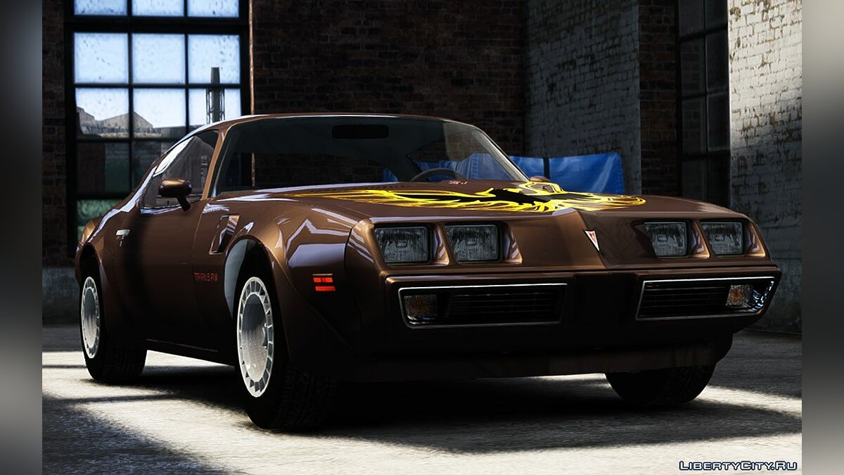 Pontiac car 1980 Pontiac Turbo TransAm for GTA 4