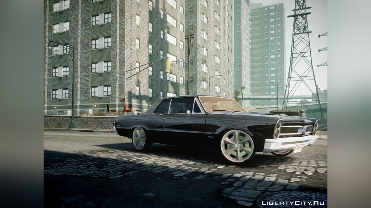Pontiac car Pontiac GTO DF for GTA 4