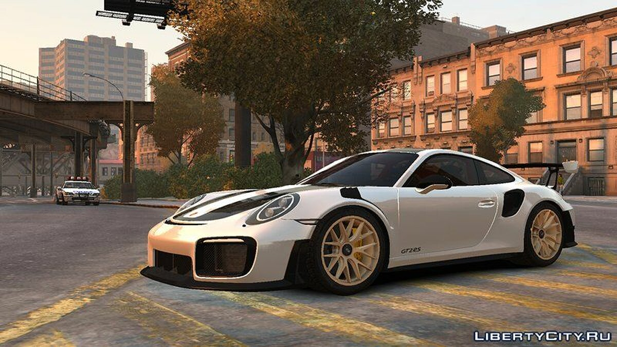 Porsche car 2018 Porsche 911 GT2 RS v1.0 for GTA 4