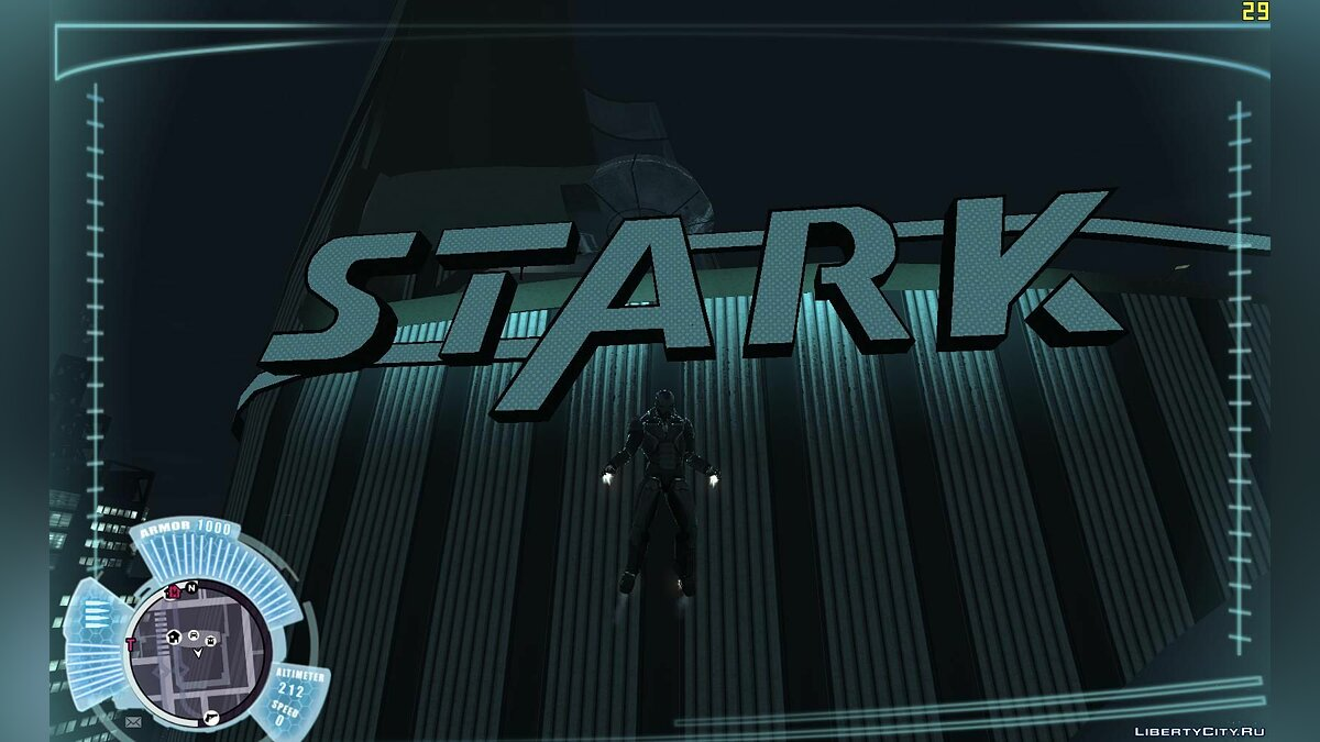 Stark Tower-Iron Man IV [Beta] for GTA 4