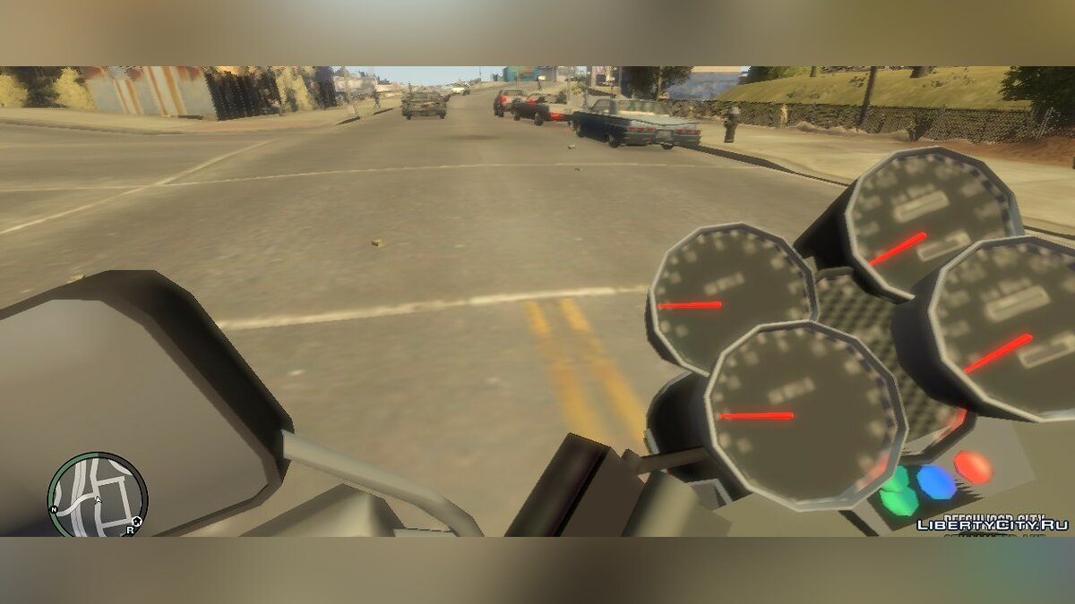 Script mod First person view V1.22 for GTA 4
