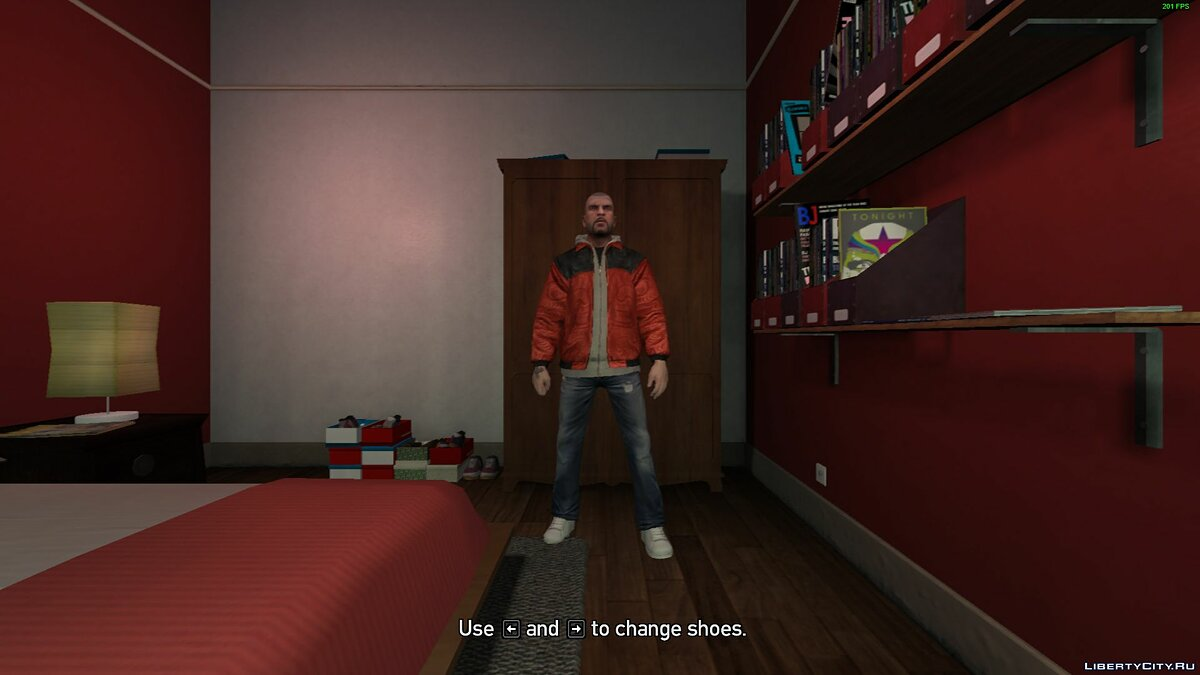 Script mod Character Switch V8.5 for GTA 4