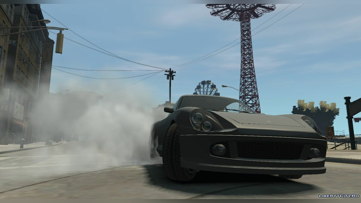 Script mod IV: BurnoutFX for GTA 4