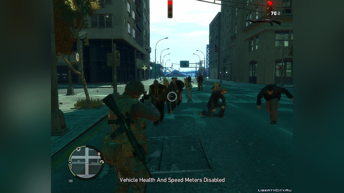 Script mod GTA 4 The Walking Dead for GTA 4