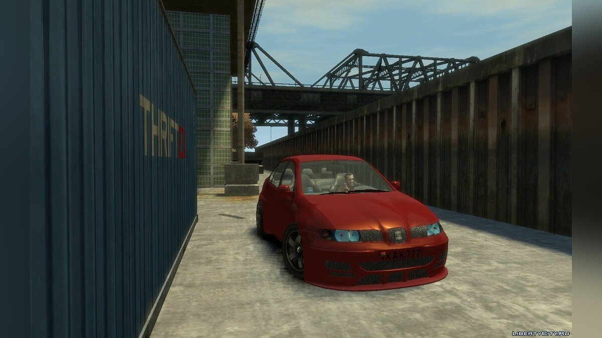 Seat car 1999 Seat Toledo 1.9TDi sedan for GTA 4