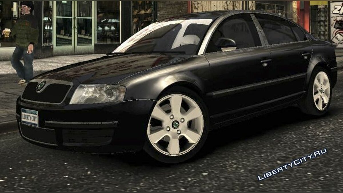 Skoda car Skoda Superb for GTA 4