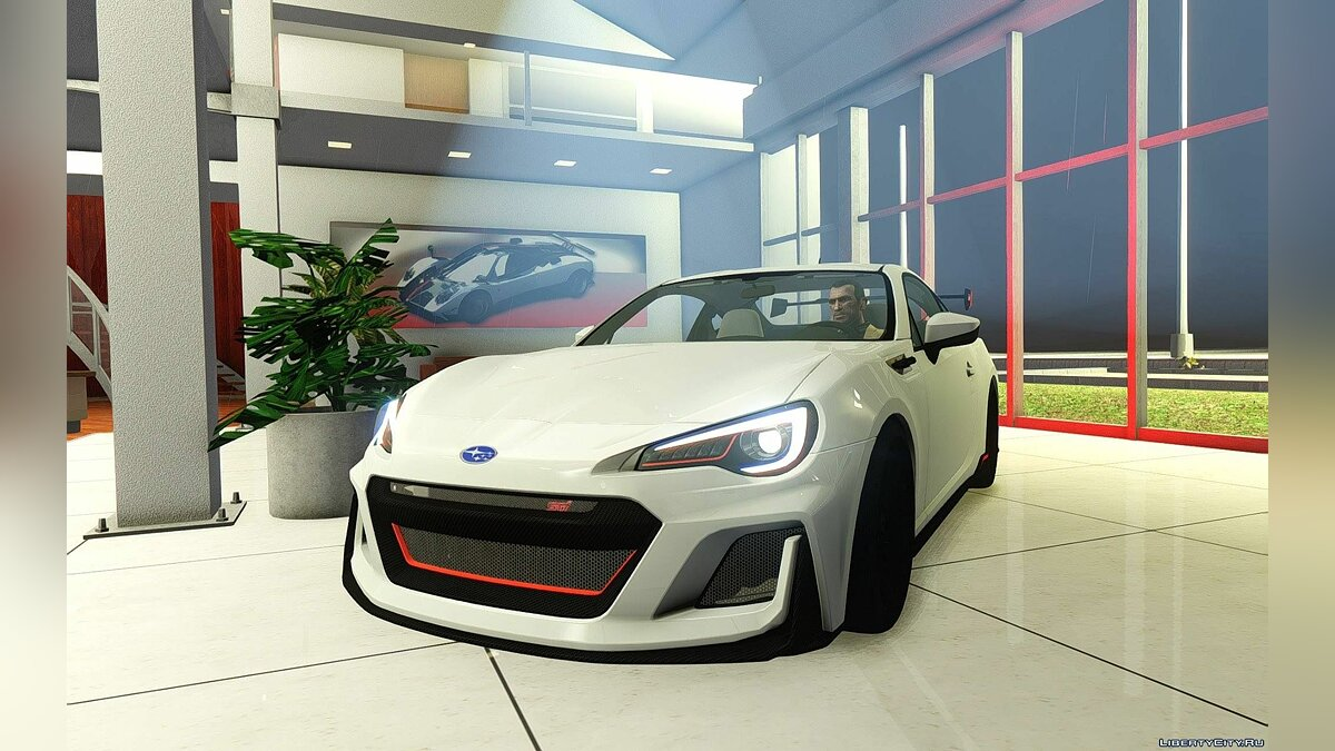 Subaru car 2016 Subaru BRZ STi Concept for GTA 4