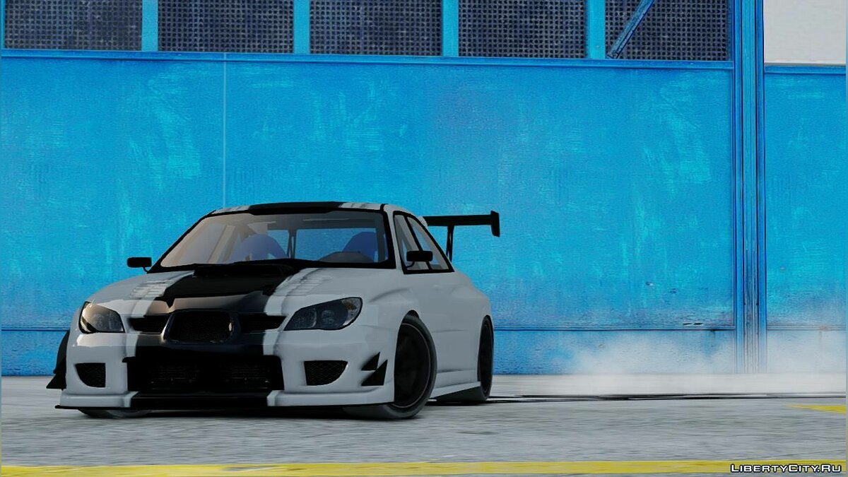 Subaru car Subaru Impreza v2 FiNAL for GTA 4