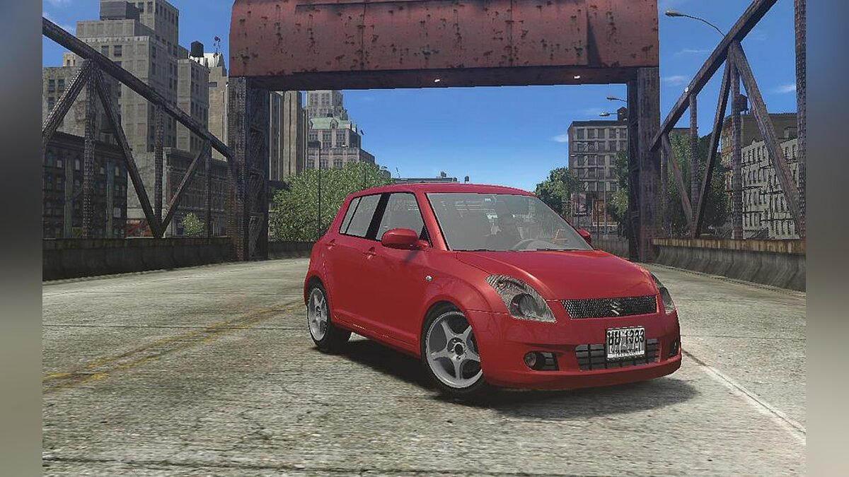 Suzuki car Suzuki Swift [Beta] for GTA 4