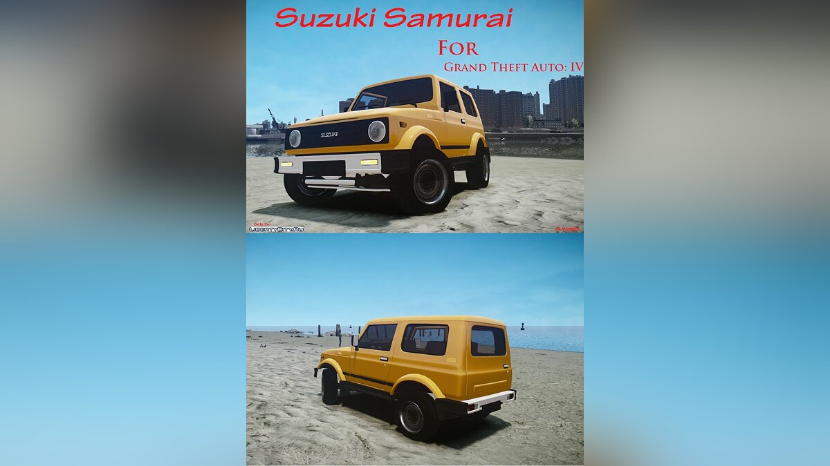 Suzuki car Suzuki Samurai v1.0 for GTA 4