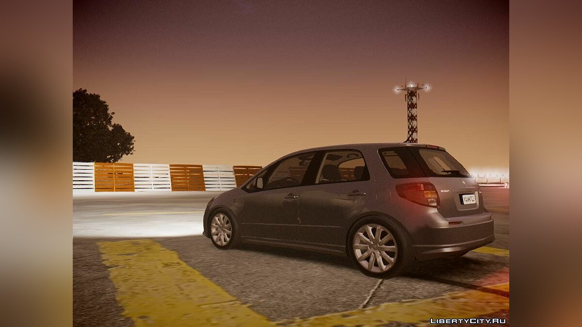 Suzuki car 2011 Suzuki SX4 Sportback for GTA 4
