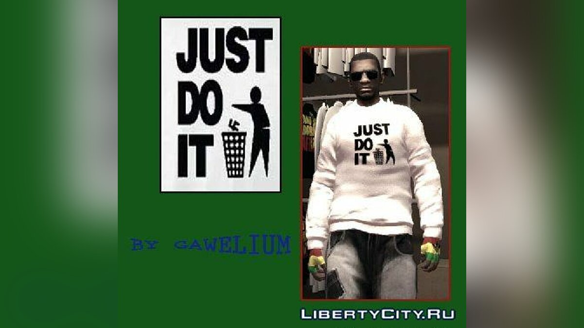 Pullovers and T-shirts Just DO It Sweater for GTA 4