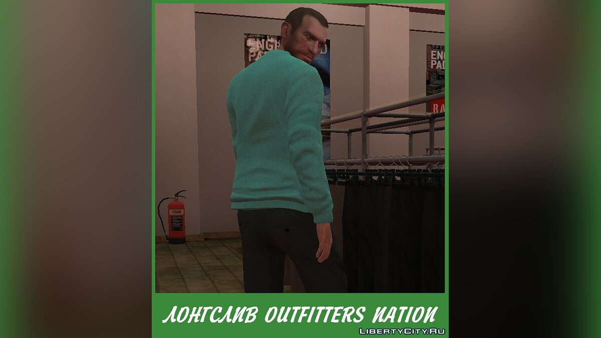 Pullovers and T-shirts Longsleeve Outfitters Nation for GTA 4
