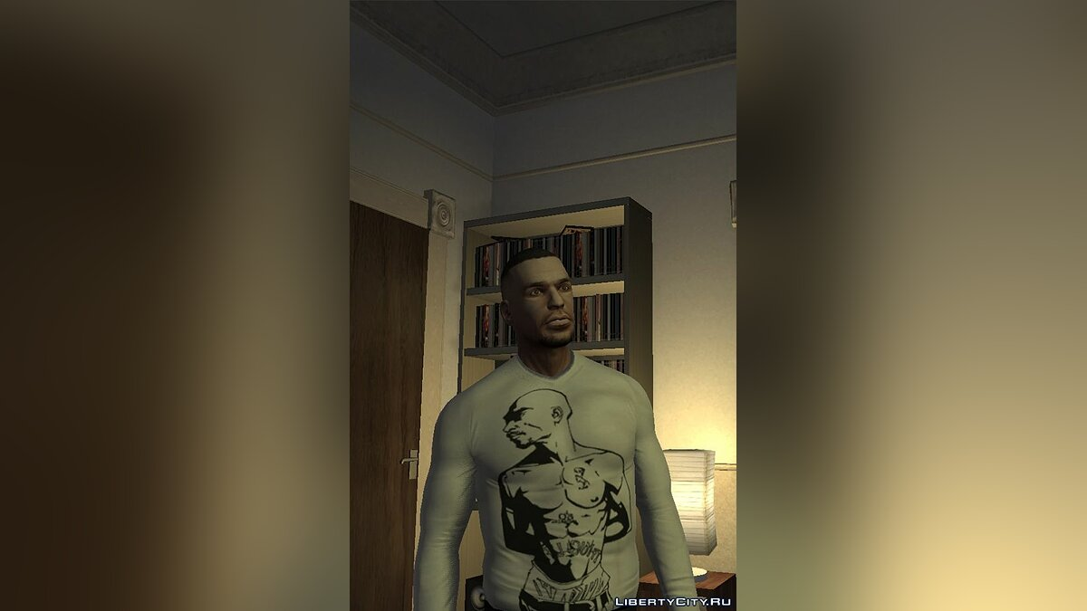 Pullovers and T-shirts Jacket with a picture 2pac for GTA 4