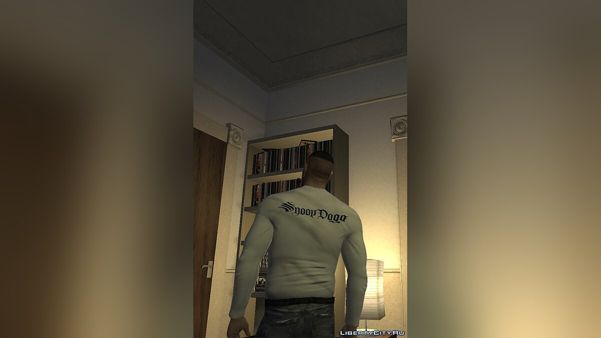 Pullovers and T-shirts Jacket with picture Snoop Dogg for GTA 4