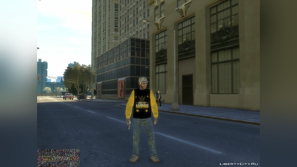 Pullovers and T-shirts Hoodie with Rampage Jersey logo for GTA 4