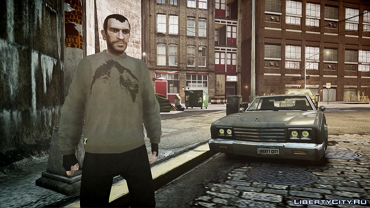 Pullovers and T-shirts New sweaters for GTA 4