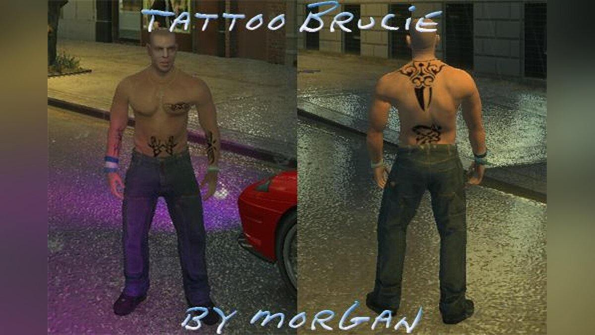 Tattoos Tattoo Brucie for GTA 4