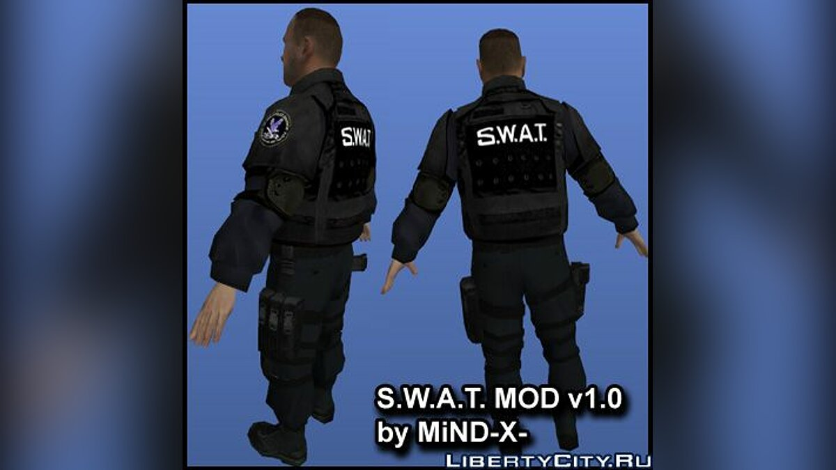 S.W.A.T. Mod v1.0 for GTA 4