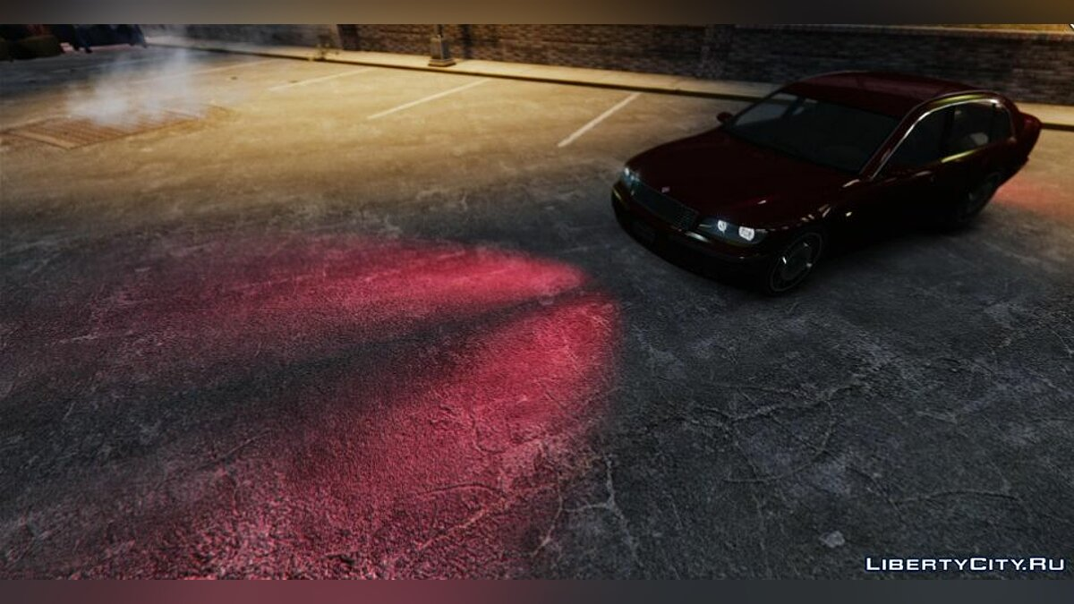 Texture mod Red headlights for GTA 4