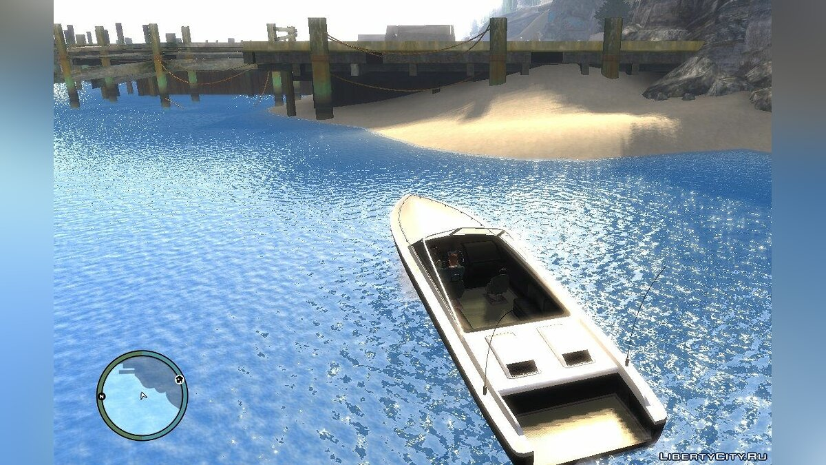 Texture mod Clean Water for GTA 4